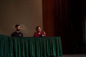Rashida Tlaib Talks Student Debt at Wayne State 1