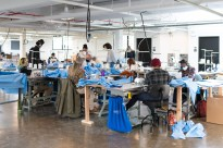 ISAIC CREATING GOWNS FOR MEDICAL STAFF