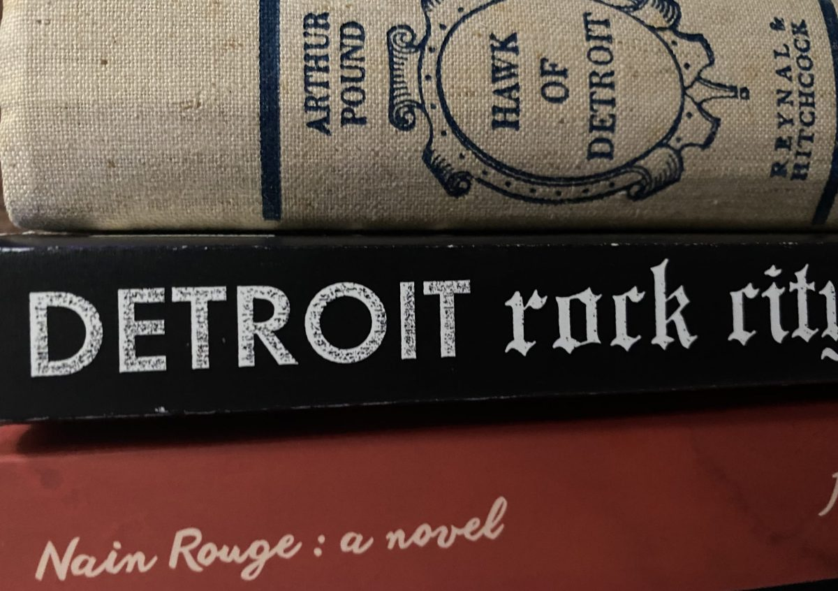 DETROIT BOOKS. PHOTO AMY NICOLE / ACRONYM