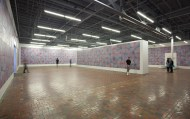 ROB PRUITT THE OBAMA PAINTINGS AND THE LINCOLN MEMORIAL, INSTALLATION VIEW, 2015. PHOTO MOCAD