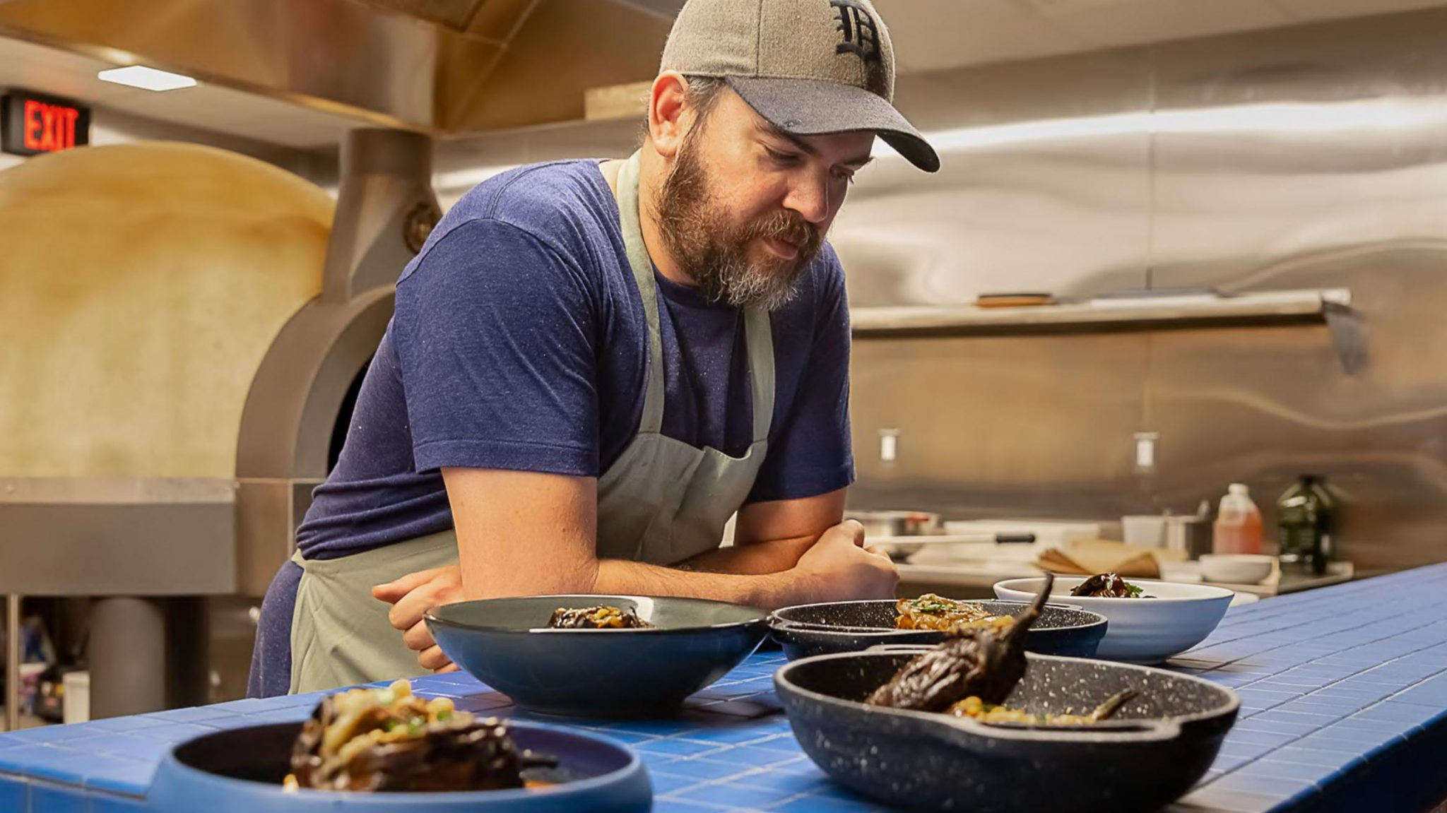 BRAD GREENHILL, OWNER AND EXECUTIVE CHEF OF TAKOI IN DETROIT. PHOTO BY CHRIS MIELE