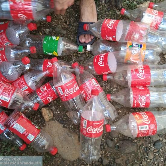 Coca-Cola // BREAK FROM PLASTIC, COLLECTED PLASTIC BOTTLES IN THE PHILIPPINES. PHOTO JEI EDRIAN BRAGA