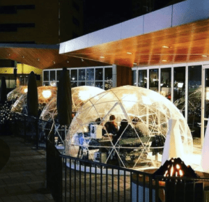 OUTDOOR IGLOOS
