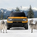 THE ALL-NEW BRONCO SPORT GOAT FAMILY. PHOTO FORD MOTOR COMPANY