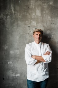 CHEF AND RESTAURATEUR, ANDREW CARMELLINI. PHOTO FROM NICHOLAS KARLIN