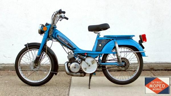 1981 Blue Motobecane Romp