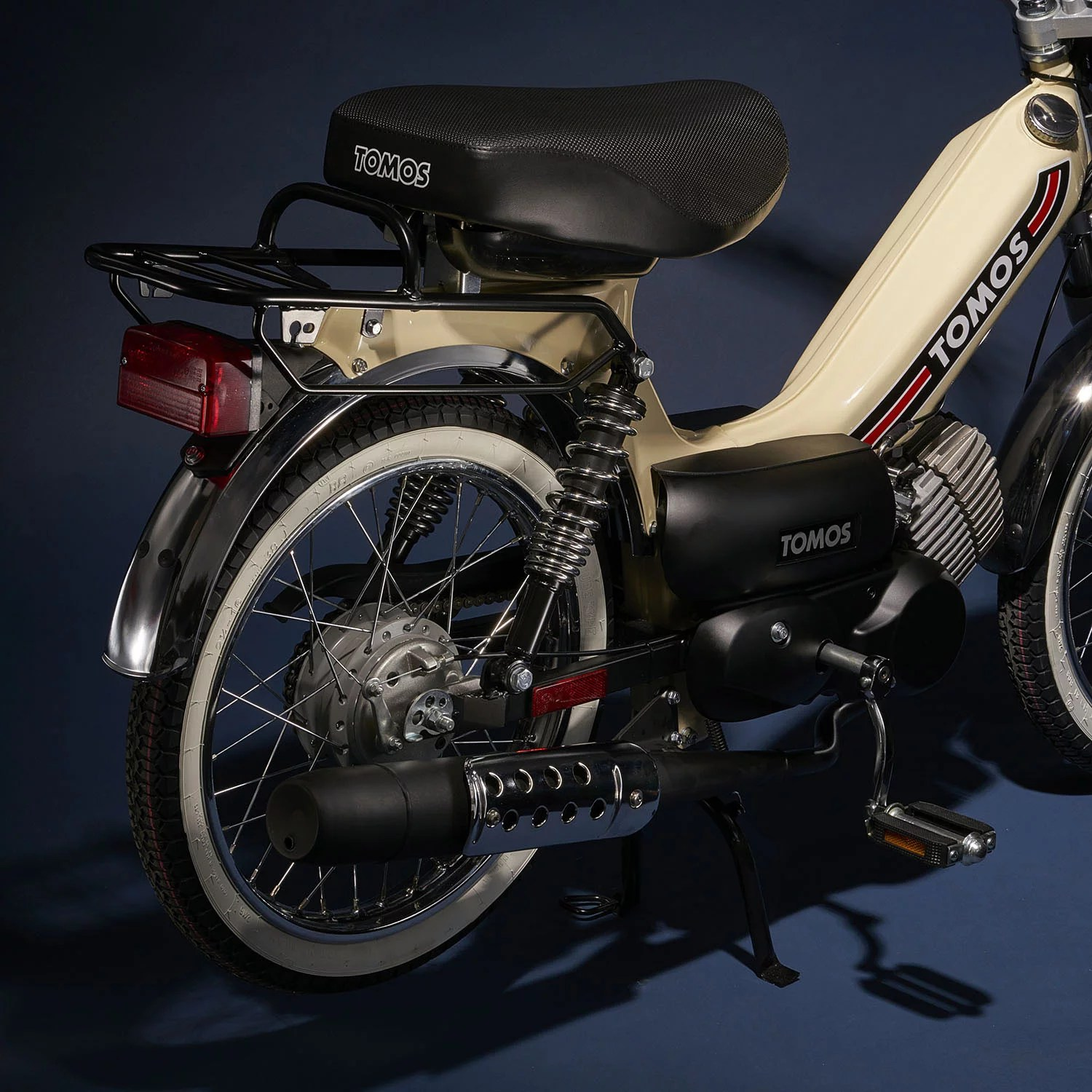NEW Tomos Sprint A55 (Chrome) – Detroit Moped Works