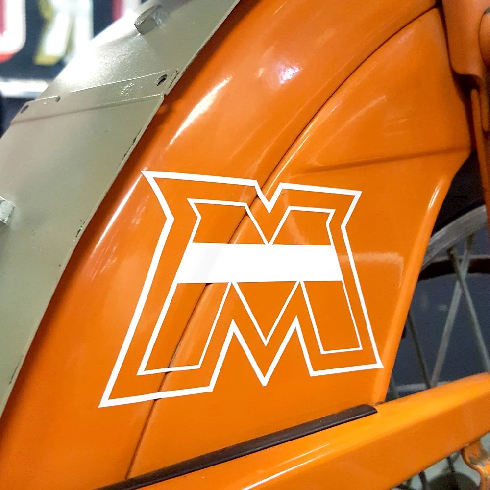 Motobecane M reproduction moped decal