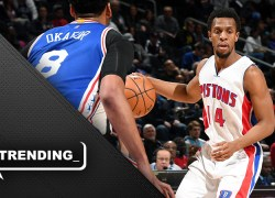 SVG's remaking of Pistons backcourt gets a thumbs up from Ish Smith
