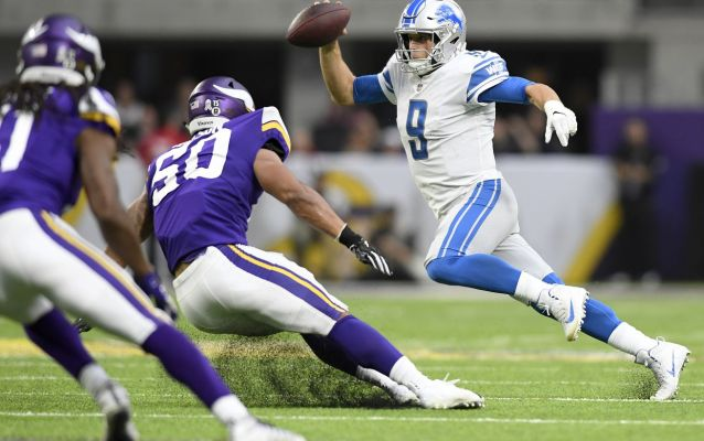 Lions drop worst offensive performance in years without Golden Tate
