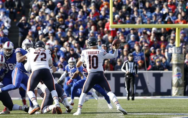 The Cheat Sheet: Lions must stop run, force Trubisky to pass