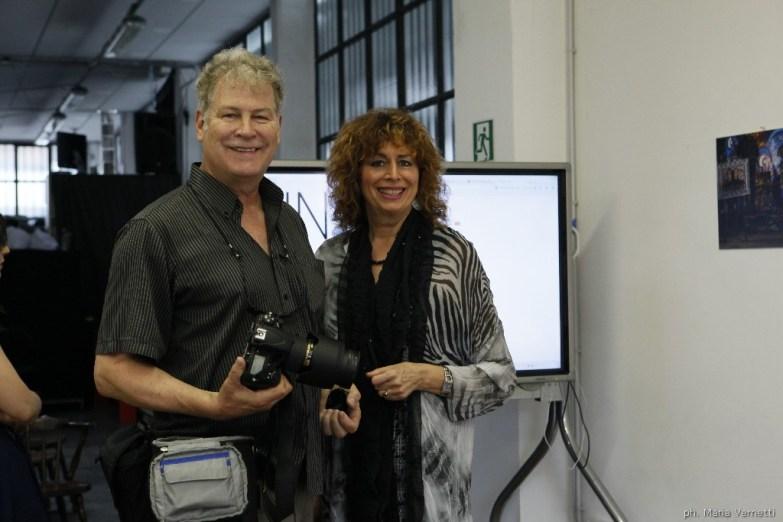 Richard Haskin e Pierette Simpson, ospiti d'onore della serata