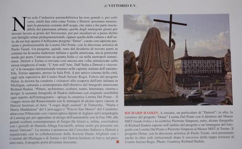 Leggi l'articolo Italia Arte n°100