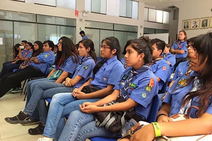 Obstetricia de UPAO desarrolla taller de educación sexual para scouts