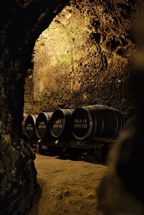 Shestaka, vinsmaking, vinkjeller, Melnik