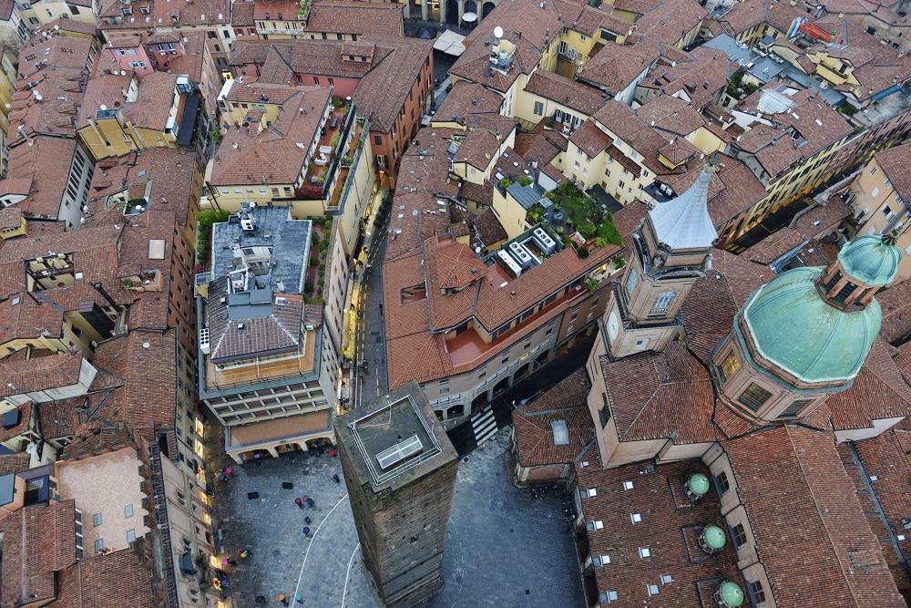 Bologna, Italia, Torre degli Asinelli