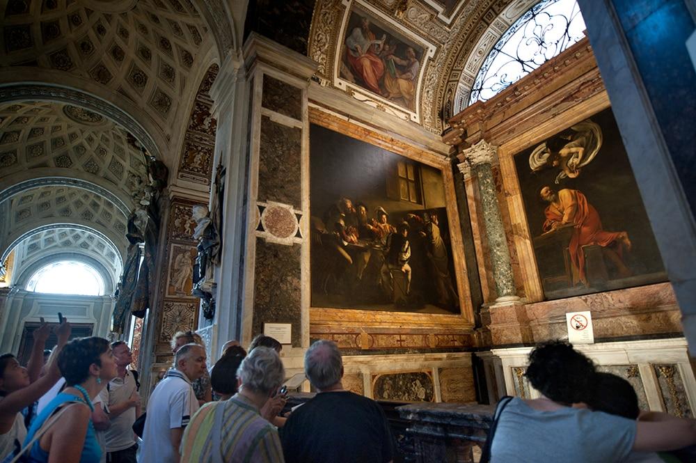 Caravaggio, San Luigi dei Francesi, Contarelli