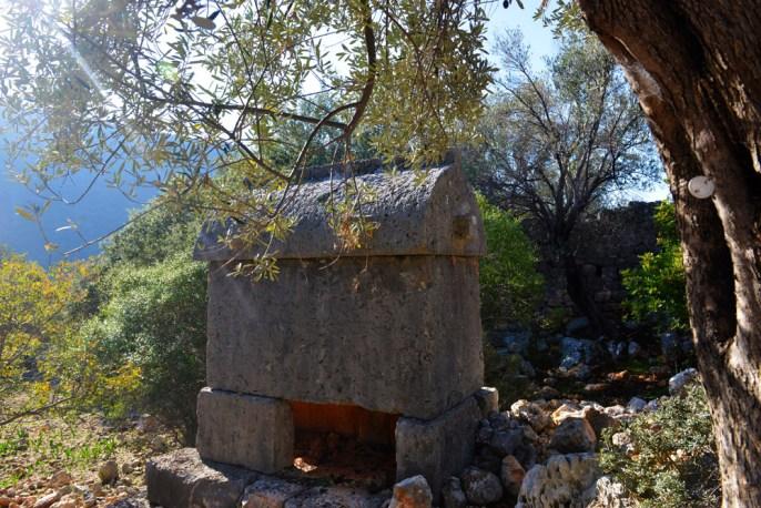 Aperlae, lykisk sarkofag,