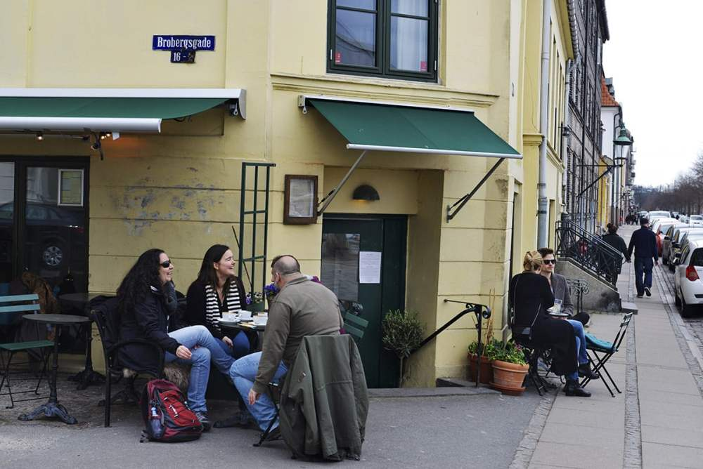 Kafé København, Parterre