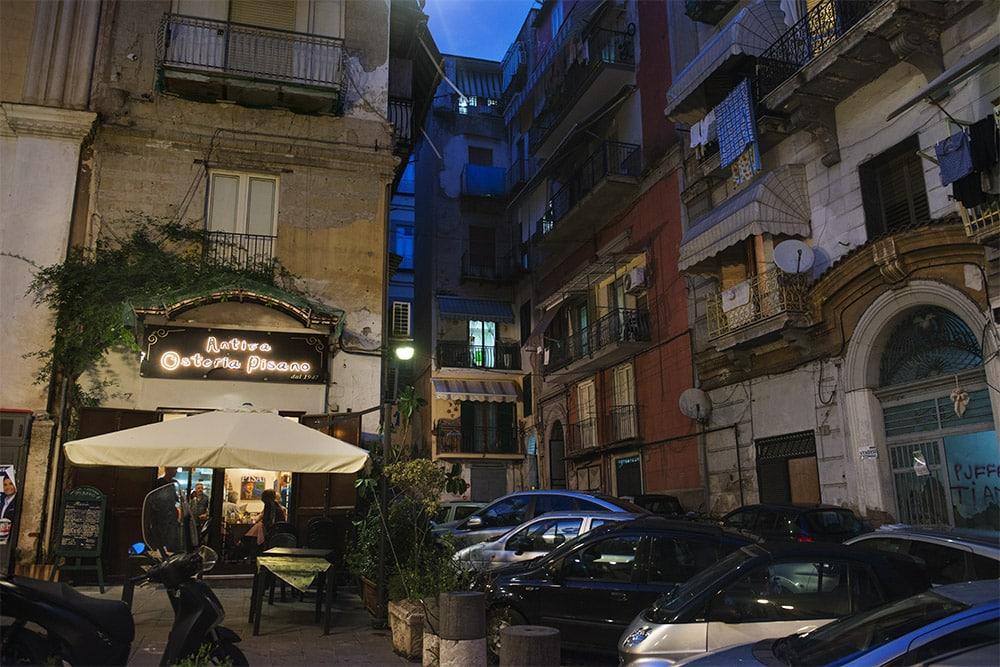 Napoli parkering