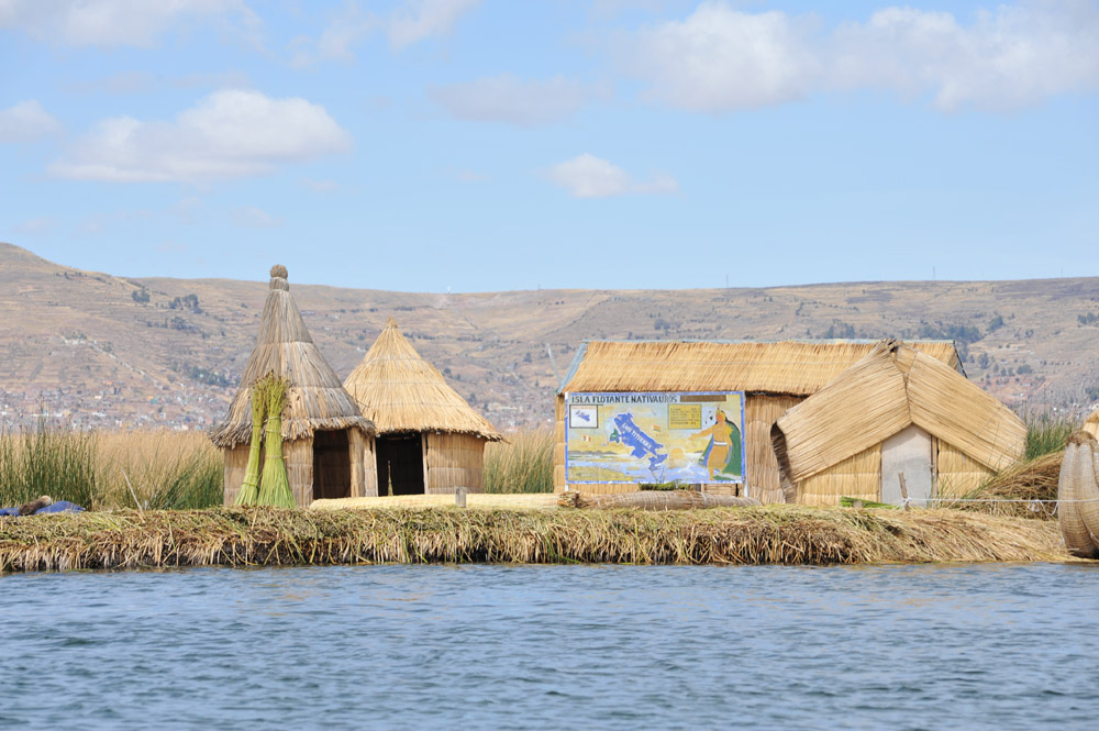 Islas Uros, Peru, Titicacasjøen