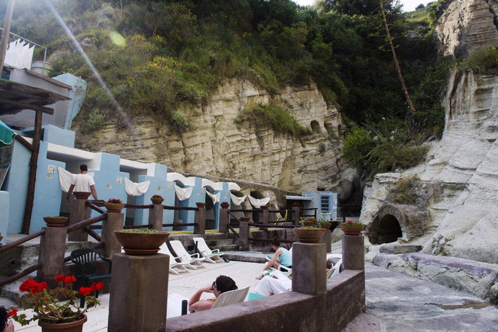 Cavascura, Ischia, Italia, spa, varme kilder