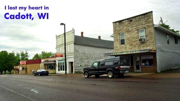 Cadott, Wisconsin, USA, småby