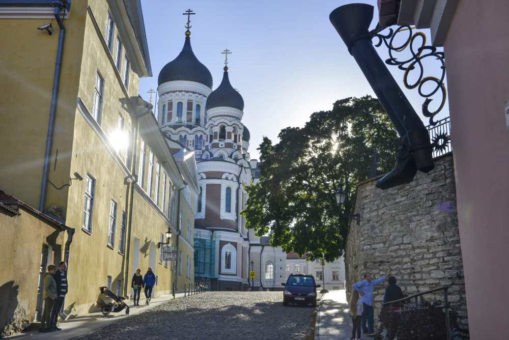 Aleksander Nevskij-katedralen, Tallinn, Toompea
