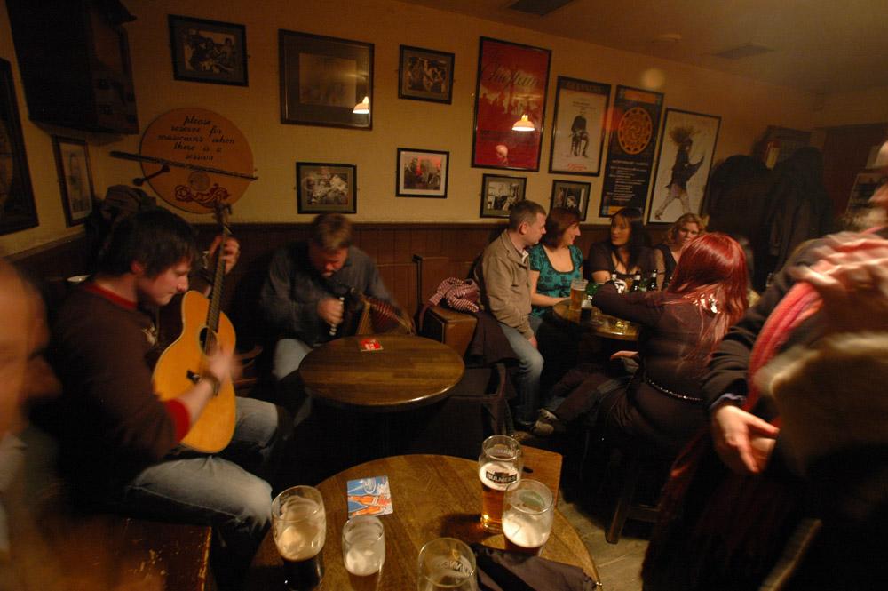 session, irsk folkemusikk, pubmusikk, Irland