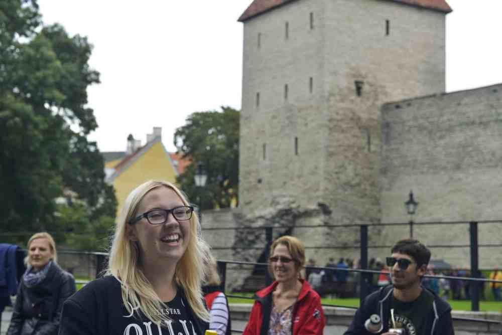 Guide i Tallinn.