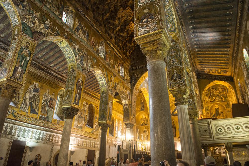 Capella Palatina, Castello dei Normanni, Palermo, verdensarv, mosaikk, kirke i Italia