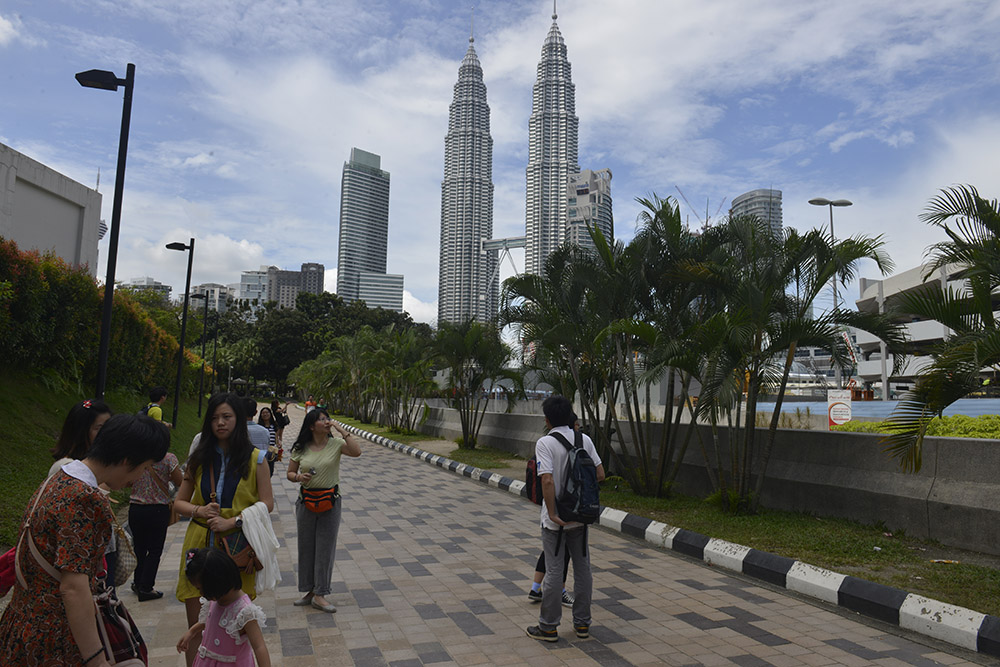 Petronas Towers, Kuala Lumpur, KL, Malaysia