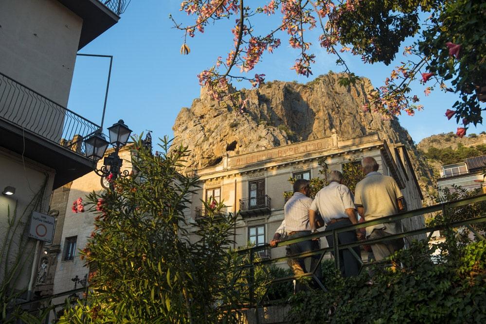 La Rocca, Cefalù, vakreste byer i Italia, Sicilia