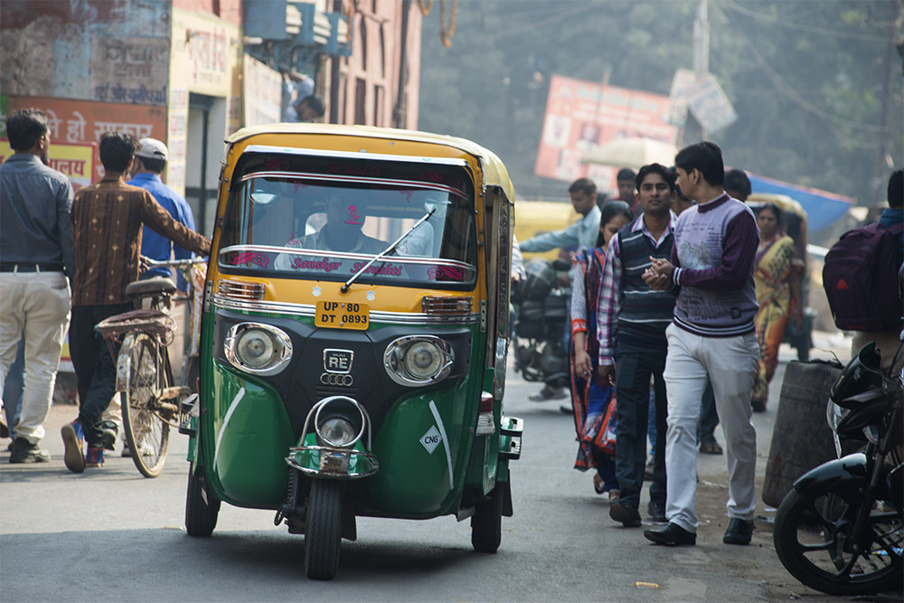 Tuktuk, India, Agra by, Uttar Pradesh