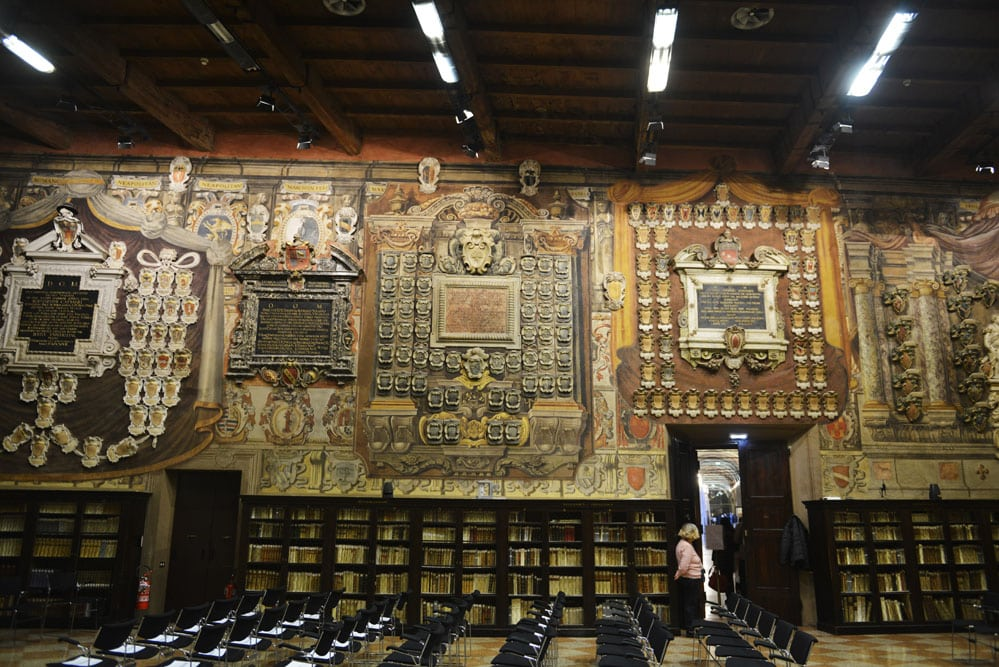 Biblioteket i Archiginnasio