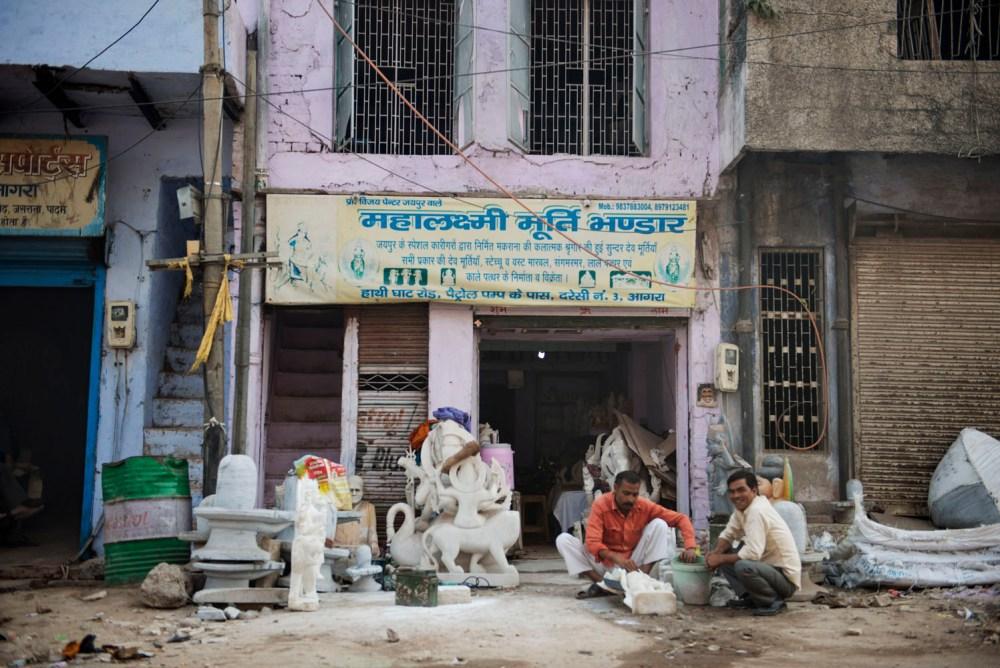 steinhogger, Agra, billedhugger