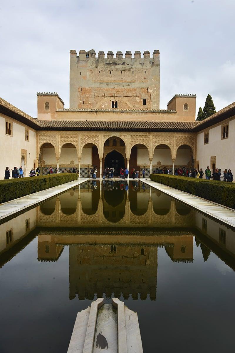 Myrtehagen Alhambra Granada Spania