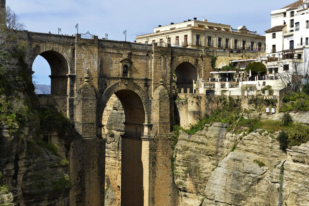 Puente Nuevo i Ronda, bro i Ronda