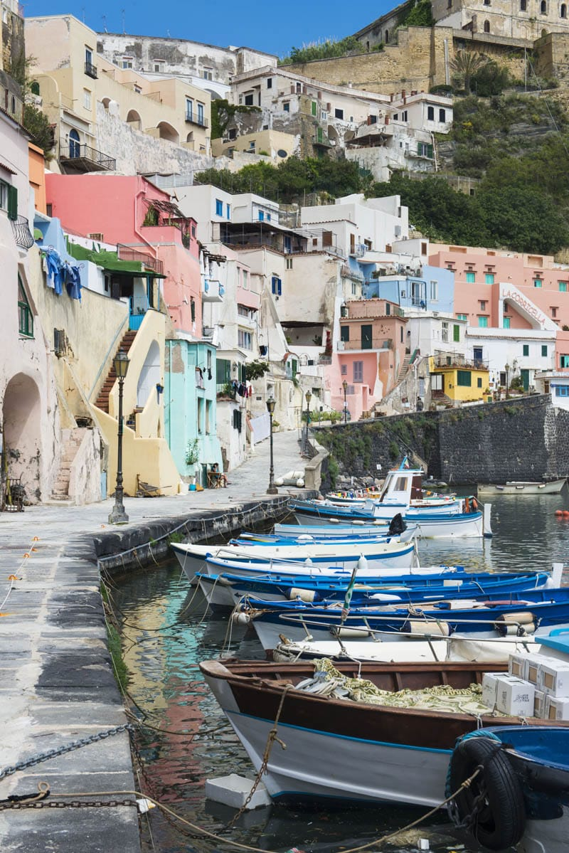 Coricella italiensk landsby