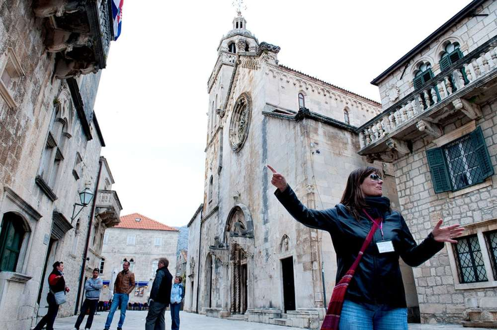 St Mark Cathedral i Korcula