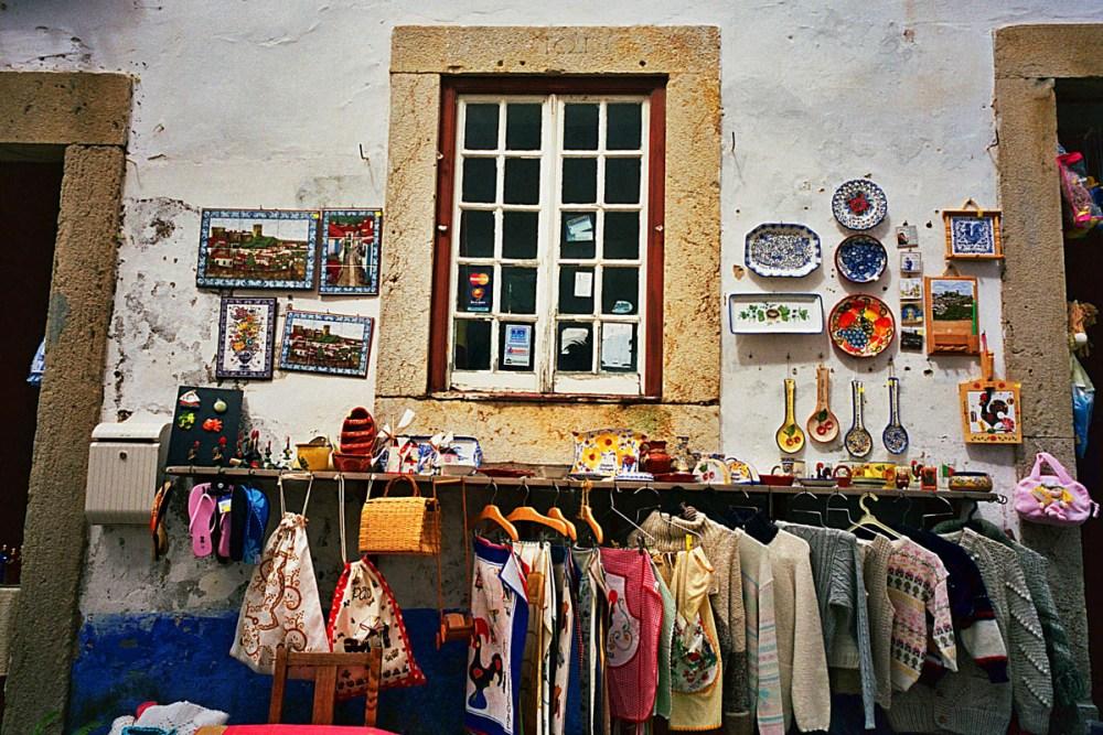 Portugal butikk Obidos