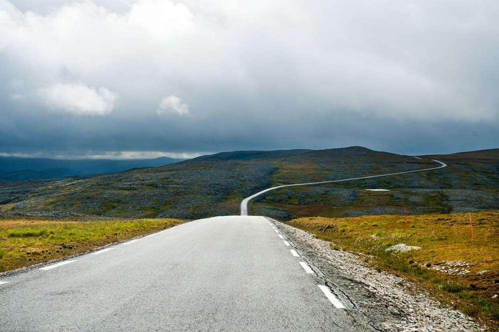 bilferie i Finnmark, vei og natur