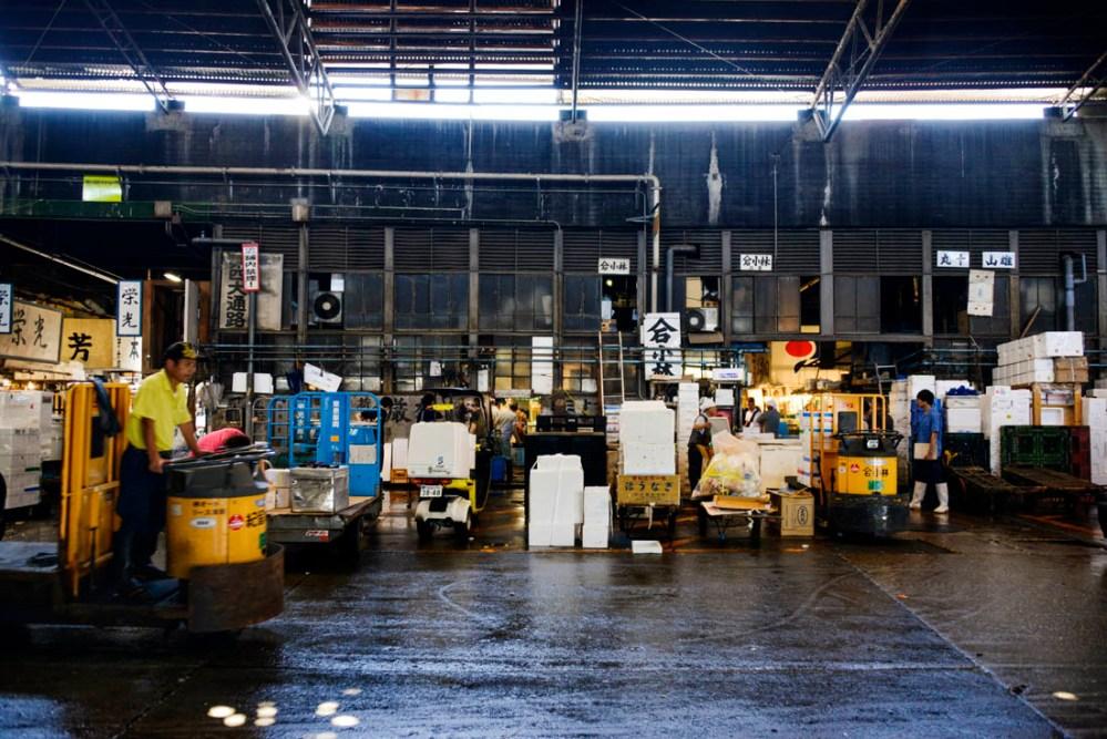 Tsukiji fiskemarked