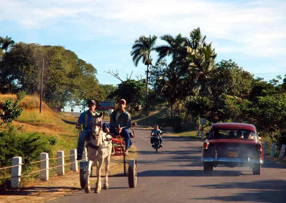 Trafikk på Cuba