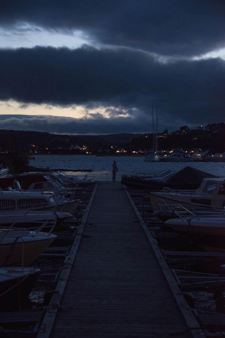 Sommernatt på Sørlandet