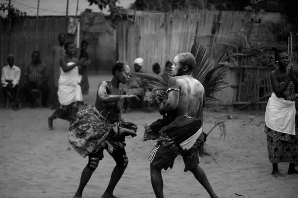 voodoodans, eller transedans, i Benin
