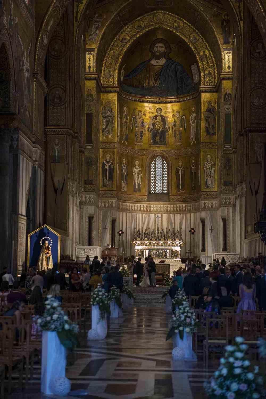 Katedralen i Monreale på Sicilia