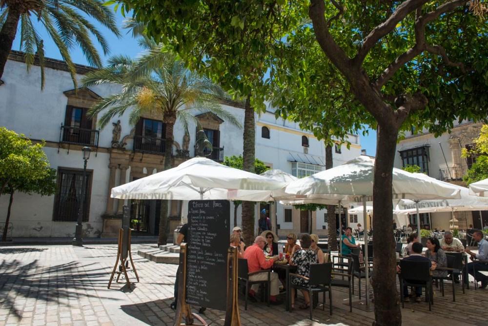 Uterestaurant i Jerez de la Frontera i Spania