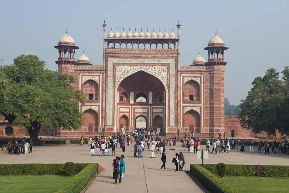 Darwaza-i Rauza, portalen inn til Taj Mahal
