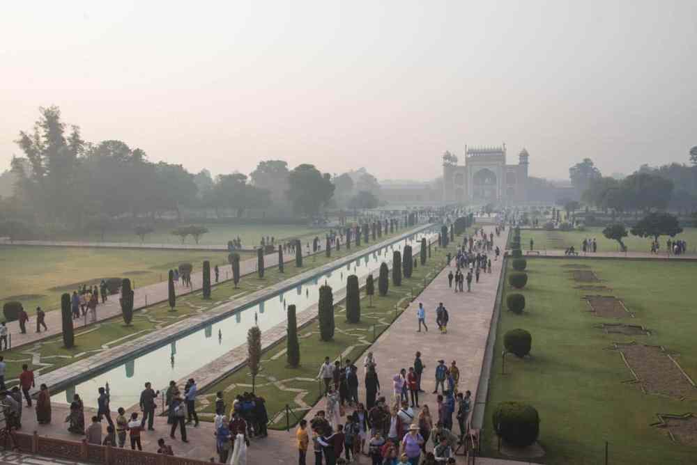 Hagen i Taj Mahal
